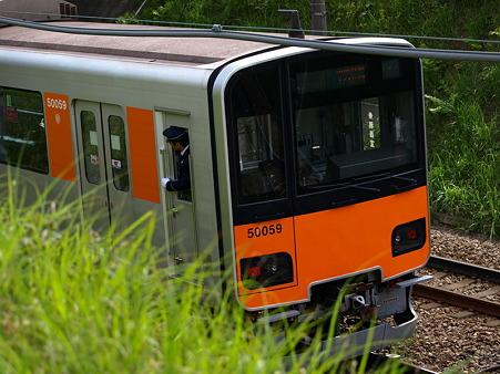 東武50000系(つくし野駅付近)5