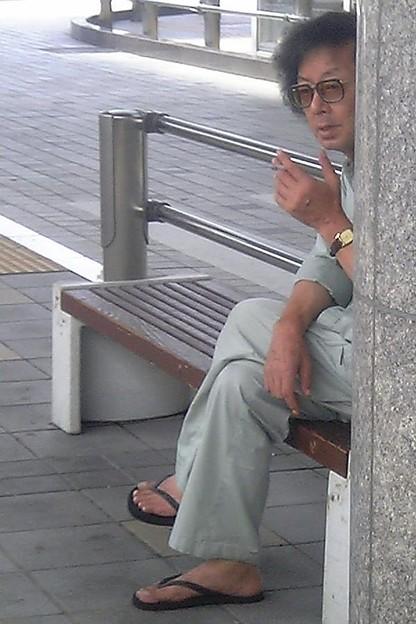 禁煙場所でもお構いなし