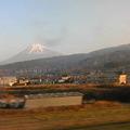 写真: 新幹線@静岡爆走中。やっぱ...