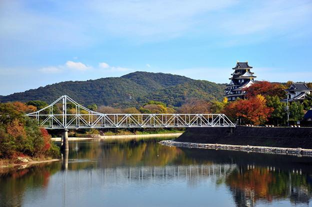 写真: 岡山城&旭川♪