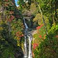 鵜の子滝(うのこたき)と鷹滝 二段滝