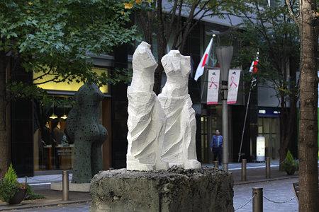 2009.11.03 丸の内仲通り 展望台 1990 Jim Dine