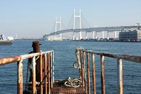 2009.11.21 貯木場防波堤 デッキ