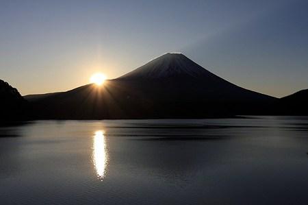 2010.01.02 本栖湖 富士山 日の出