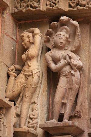 2010.02.01 ラクシュマナ寺院 外壁彫刻-18
