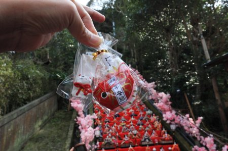 2010.03.01 千葉 勝浦ビックひな祭り遠見岬神社 おみくじ