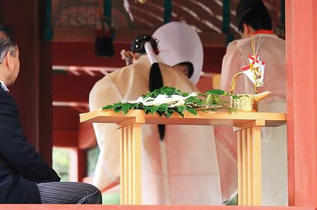 2010.03.05 鎌倉 八幡宮 父と娘