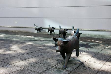 2010.03.11 YBP 犬モ歩ケバ 1990 薮内佐斗司