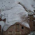 Photos: 2011.01.26 トルコ カッパドキア ウチヒサル・カヤ・ホテル 鳩の谷に雪