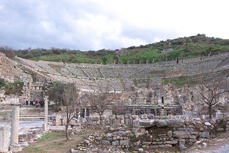 2011.01.23 トルコ 古代都市エフェス 大劇場