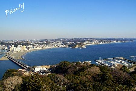 江の島展望灯台から見た風景・・