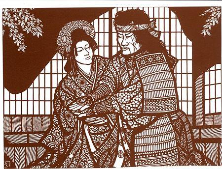 「日本でもっとも美しい村・大鹿」切り絵と写真で織り成す ...