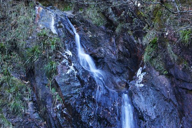 冬の夢想滝上部