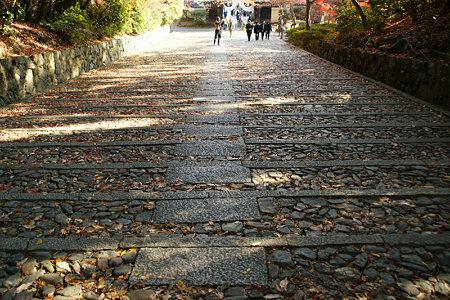 石段のモミジ光明寺!(091130)