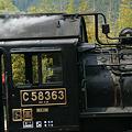Photos: SL蒸気機関車の運転席!(100504)