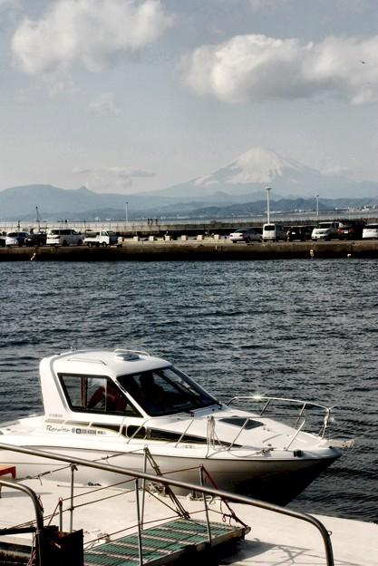 湘南・富士の見える・高速遊覧船乗り場-D80-103