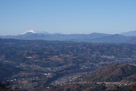 浅間山を展望