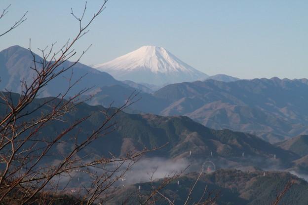 Photos: 101215-48高尾山山頂からの富士山