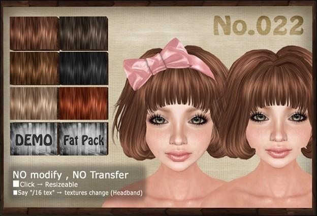 [ Love Soul ] Hair*022*