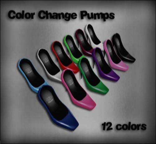 [ Love Soul ] Color change pumps