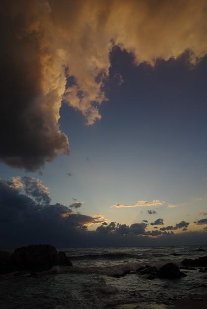 梶取岬の夕空(2)
