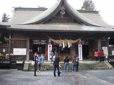 阿蘇神社の七五三