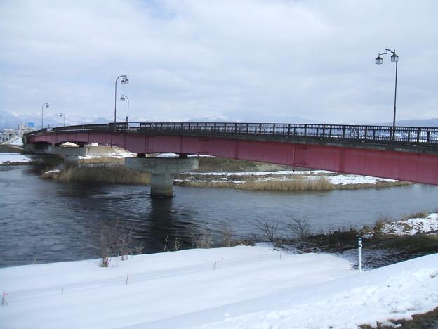 冬の国道121号 - 東大橋 - 3