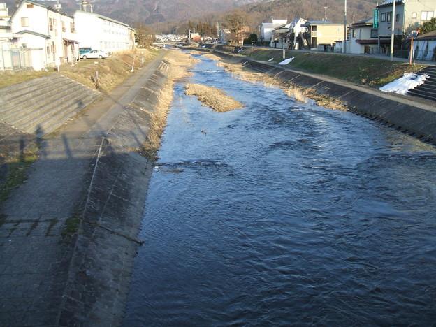 夕方の湯川 - 1