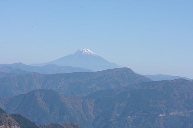 大札山 より富士山