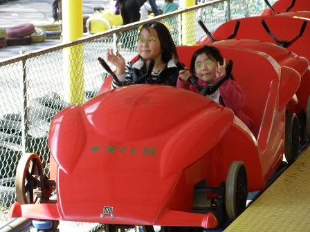 横浜 こどもの国 ジジェットコースーター