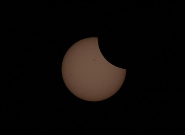 写真: 金冠日食(20120521)