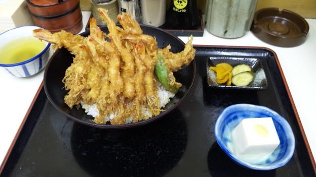 芝エビと大エビ天丼1400円