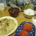 Photos: 晩ごはん・前の日