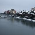 浅野川の風景 大橋