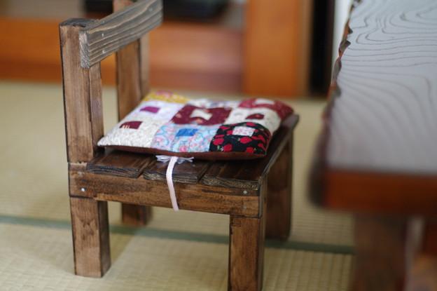 姪専用椅子
