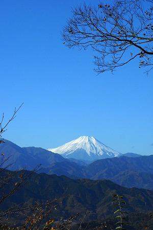 展望台から富士山