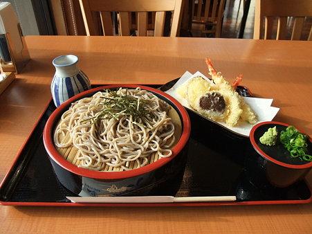 蕎麦:道の駅・マキノ追坂峠 天ざるそば