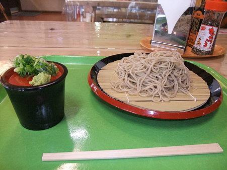 蕎麦:道の駅・瑞穂の里さらびき【京都】さらびき特製十割そば