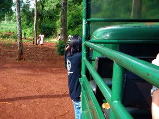 グアラニー族の村へ