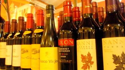 サルタでワイン