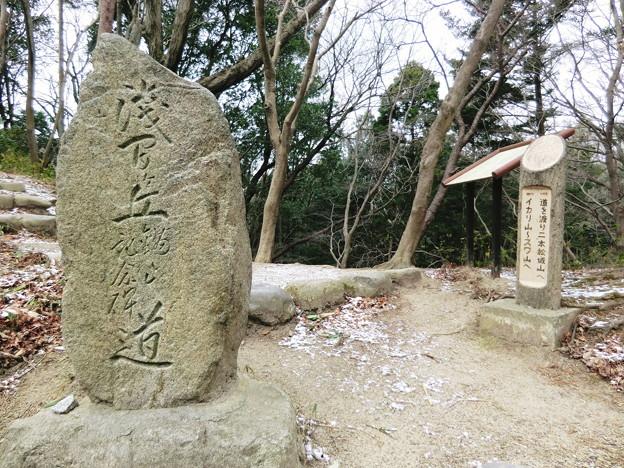 「浅間ヶ丘記念碑の道」石碑