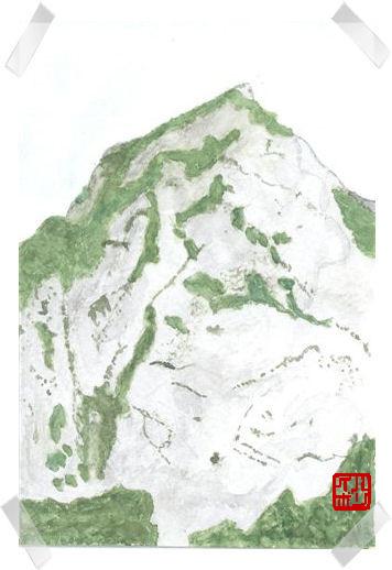 14頚城・明星山P6南壁